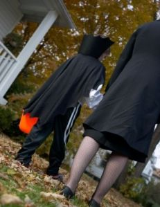 Pull Close Parenting Halloween Style!